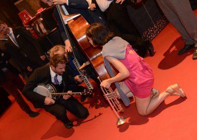 Musik Sugar Daisys Hot Club BrandlEvents, Wedding-Vienna, Rathaus Wien